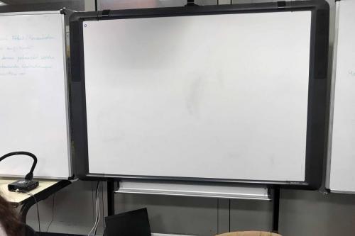 Technische Ausstattung  mit Whiteboards